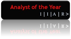 IIAR Analyst of the Year
