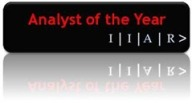IIAR Analyst of the Year logo